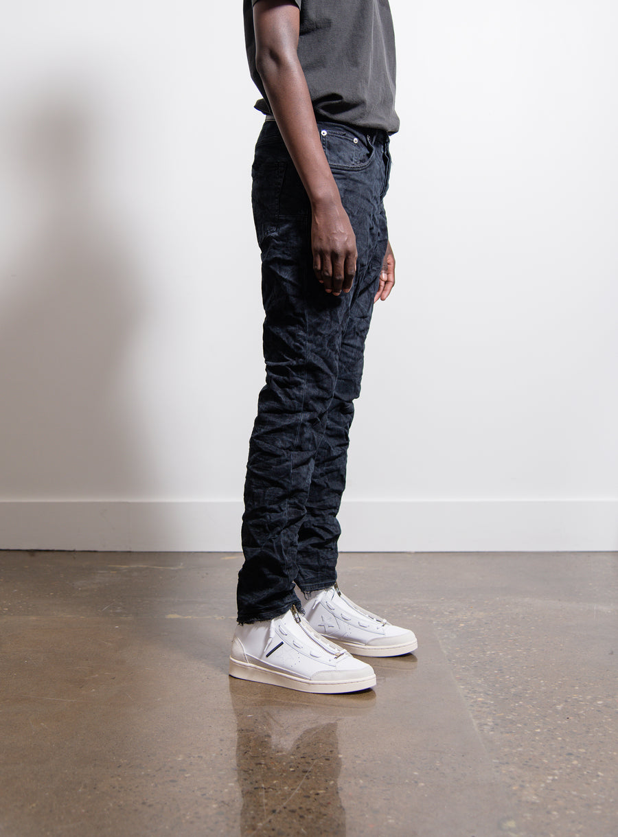 011 Dropped Fit Mid Rise Straight Leg Jean Overdyed Vintage Black