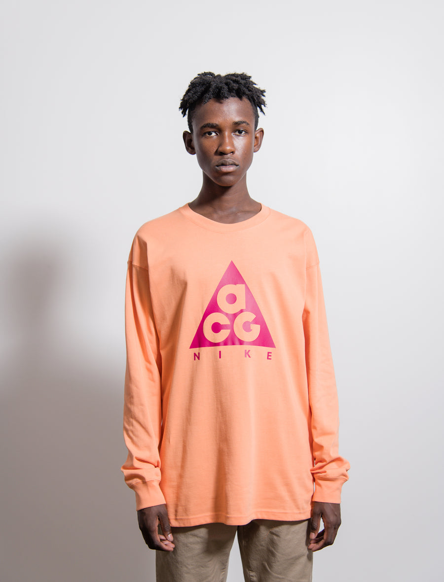 ACG Long Sleeve T-Shirt Orange Trance/Sport Fuchsia BQ3457-892