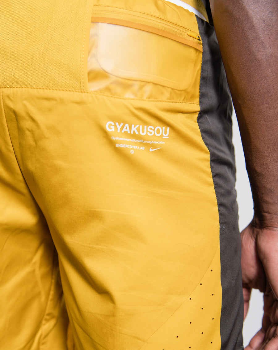 Gyakusou Utility Short Mineral Yellow/Deep Pewter/Sail CD7113-793