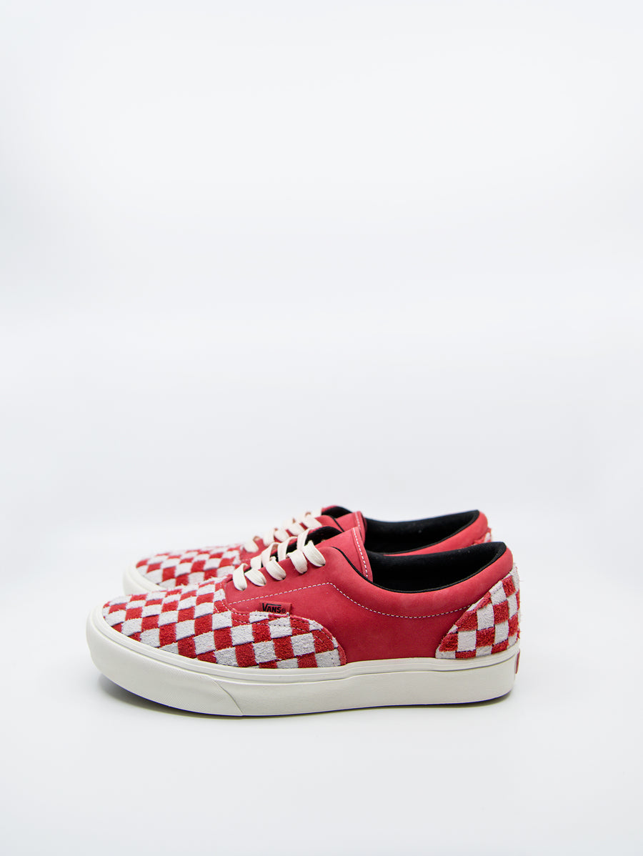 Vans Vault Comfycush Era LX Checkerboard Red/Marshmallow