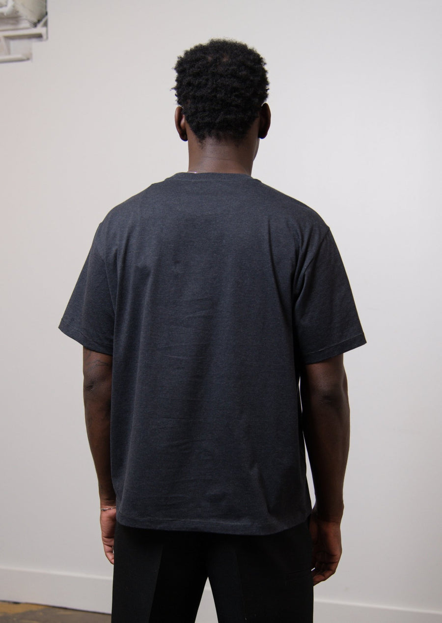 Hole Tee Dark Grey