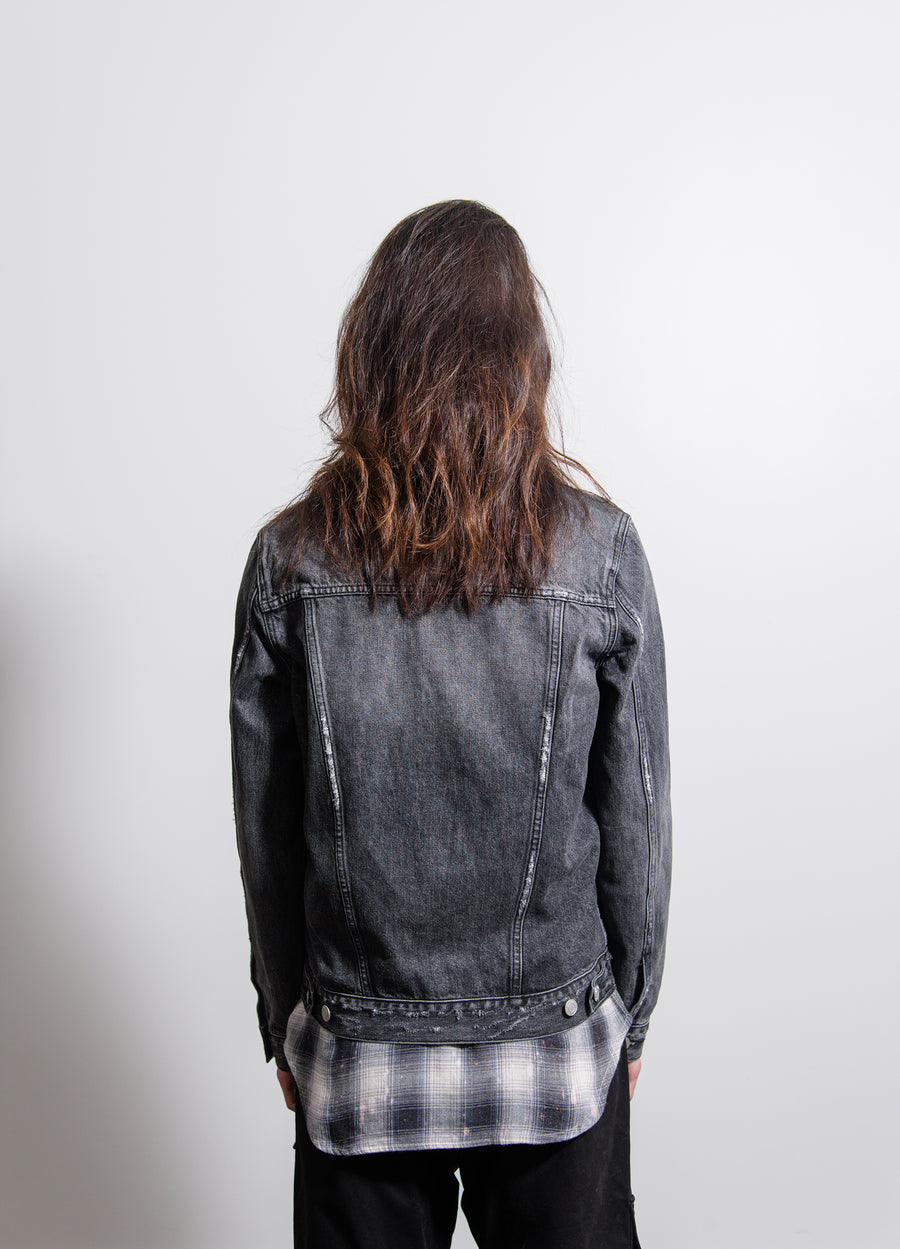 Classic Fit Jacket Black Wash