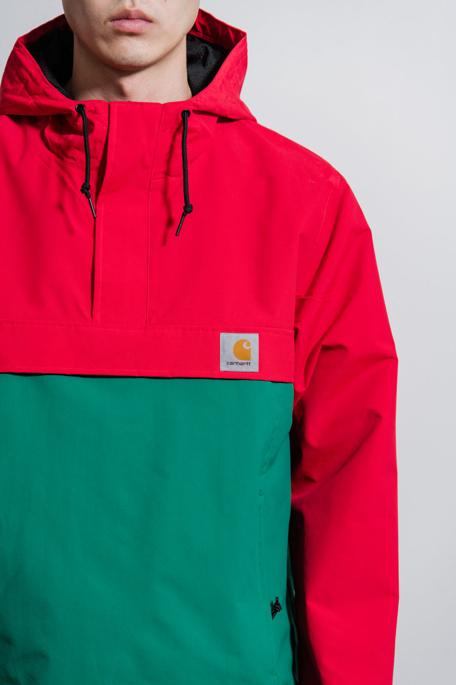 Nimbus Pullover Jacket Dark Cardinal/Dragon