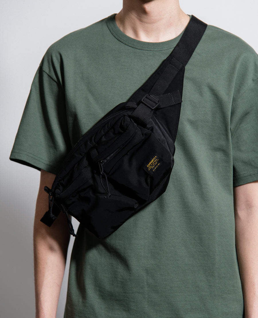 Military Hip Bag Black