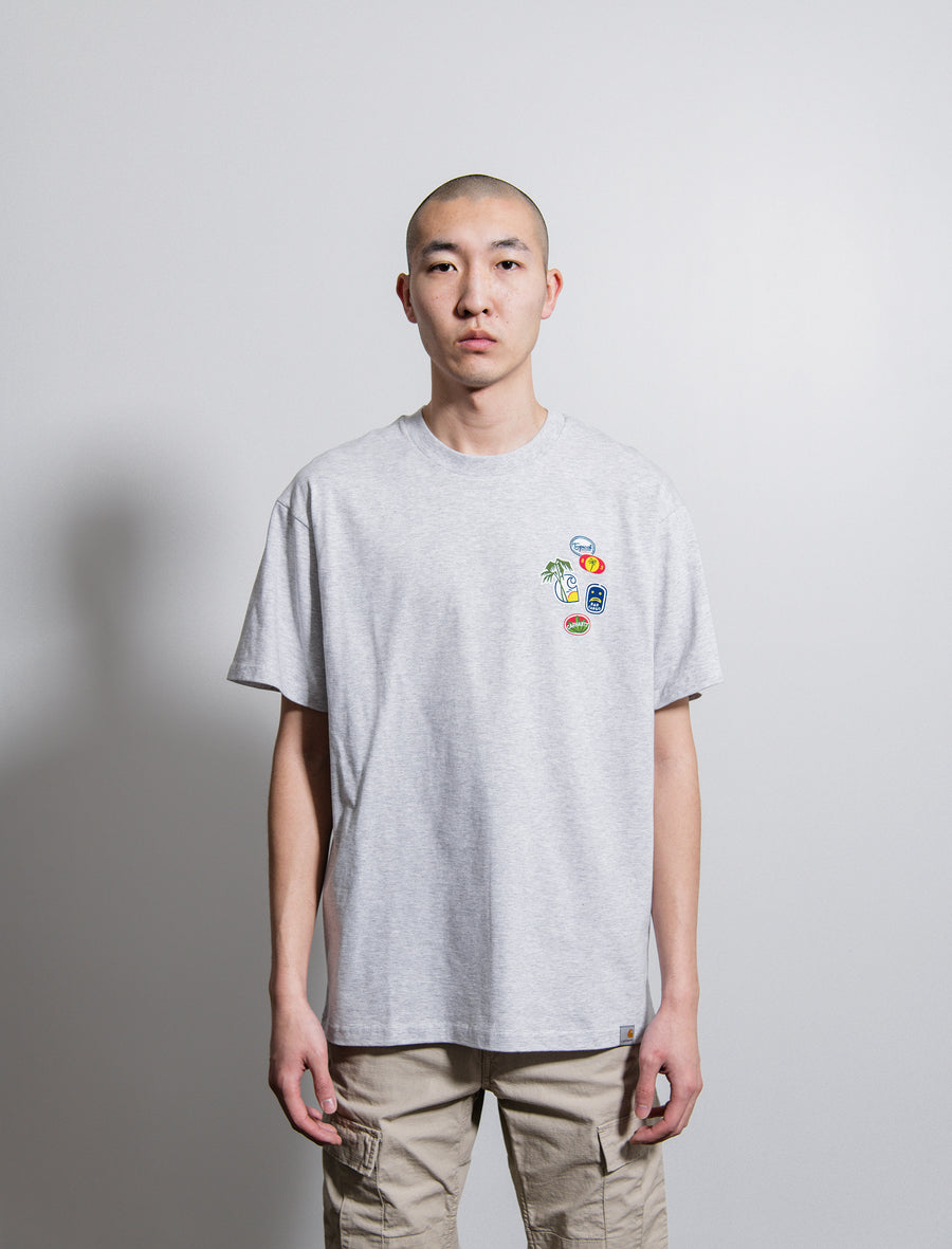 S/S Bad Cargo Tee Ash Heather