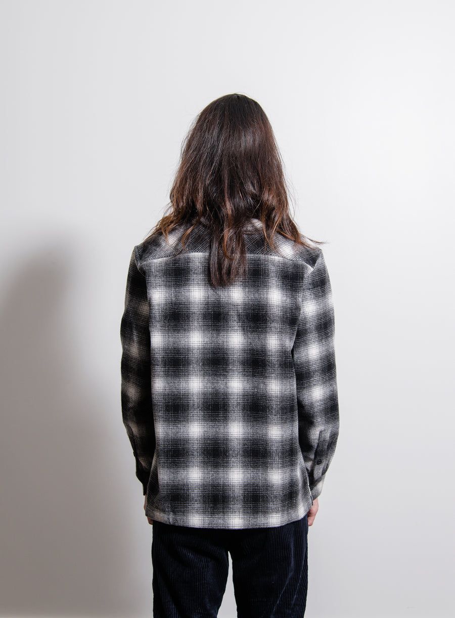 Halleck Overshirt Black