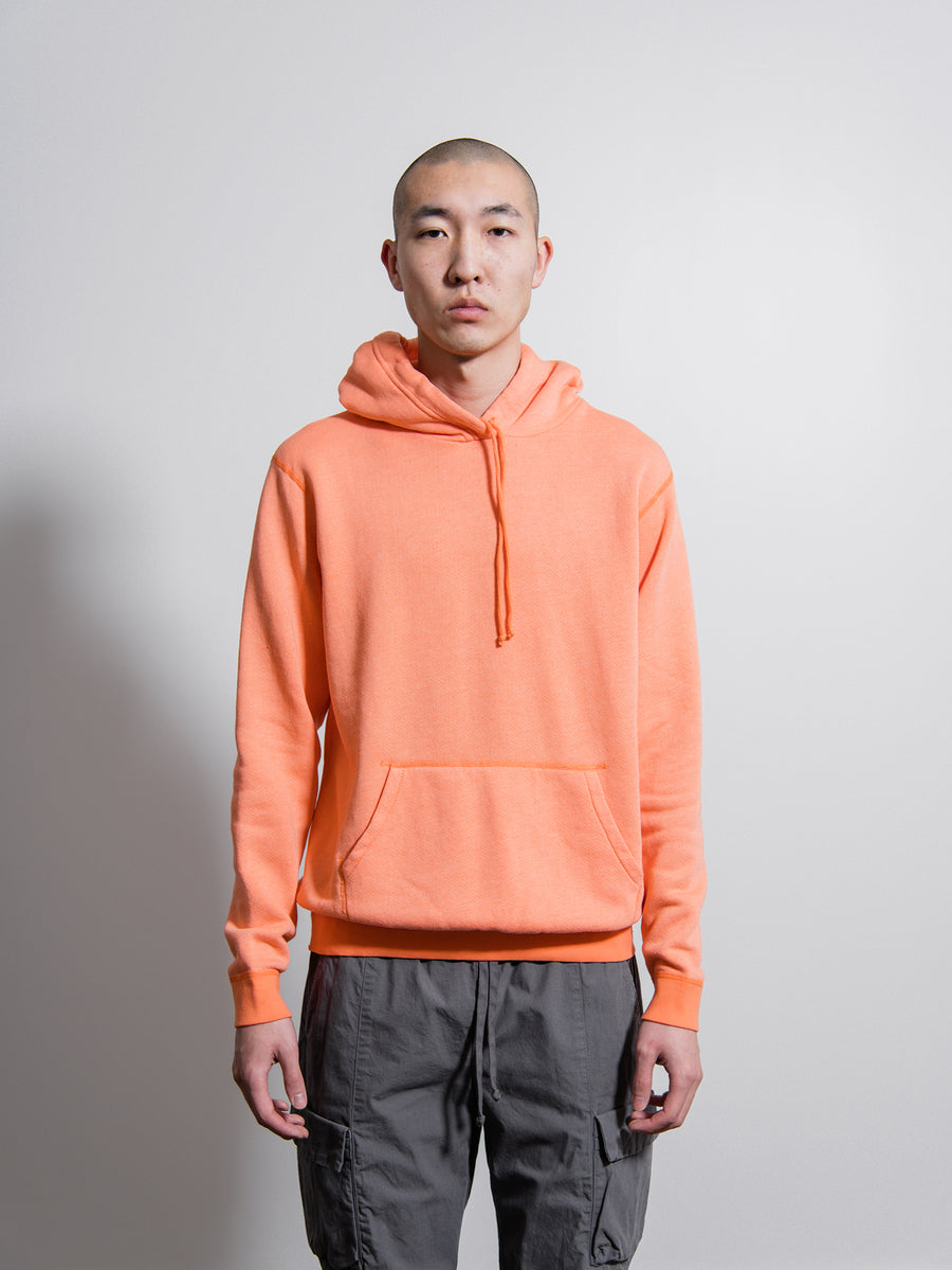Vintage Fleece Hoodie Orange