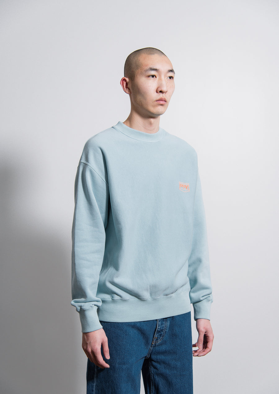 Logo Crewneck Sweater Light Blue