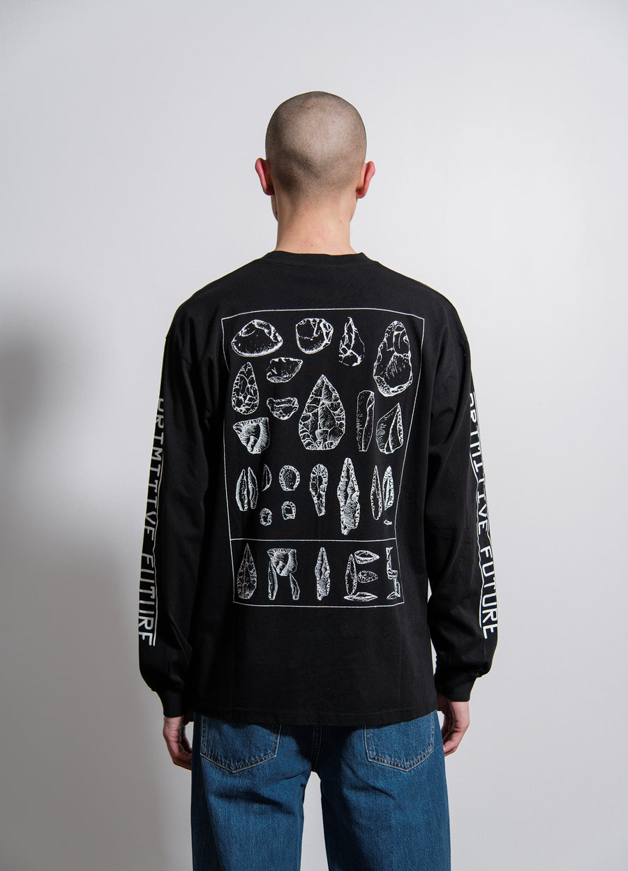 Primitive Future L/S Tee Black