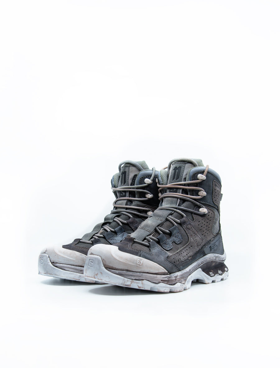 Boot2 Grey Tones/Patina Grey Object Dye