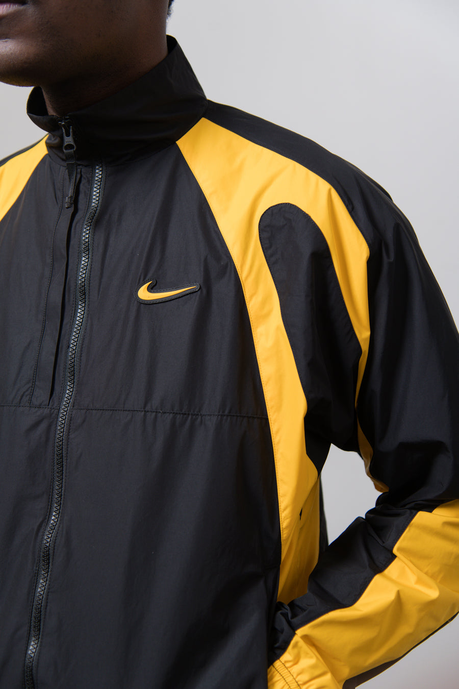 Track Jacket Black/University Gold