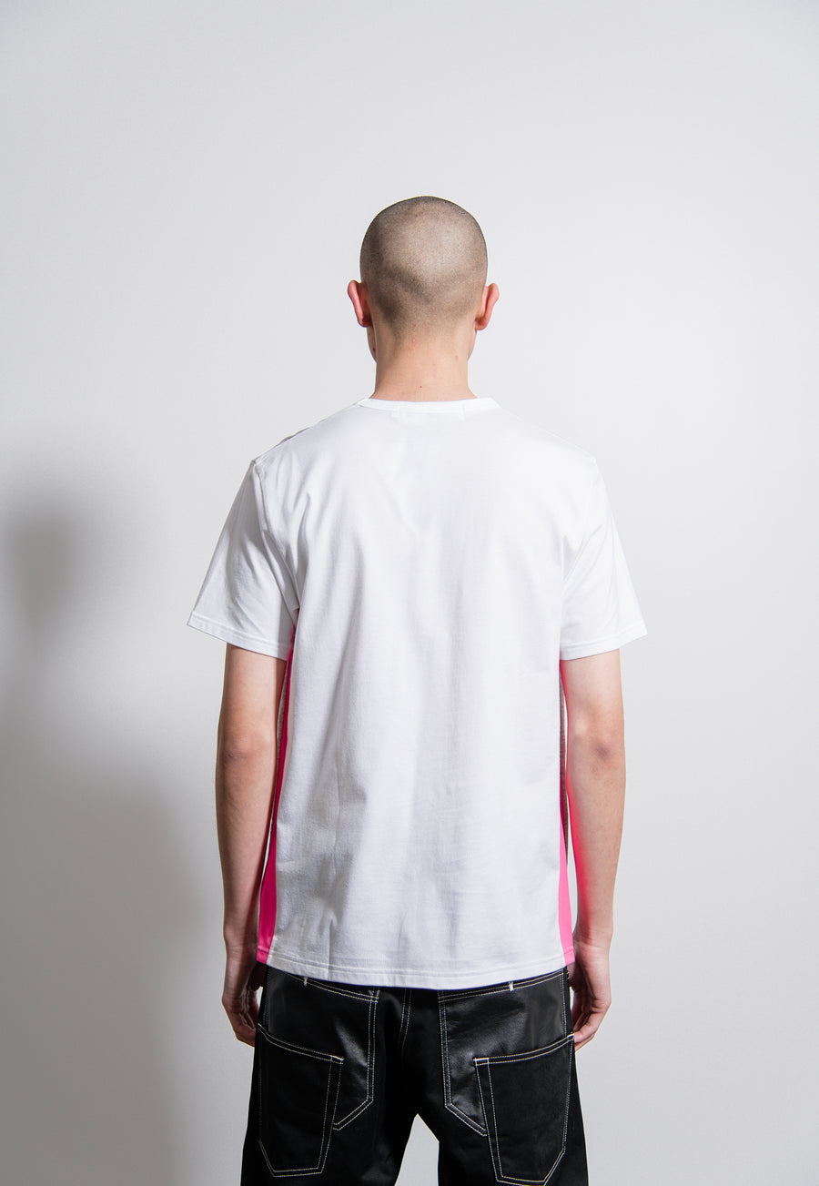 Short Sleeve Tee Grey/Pink/White