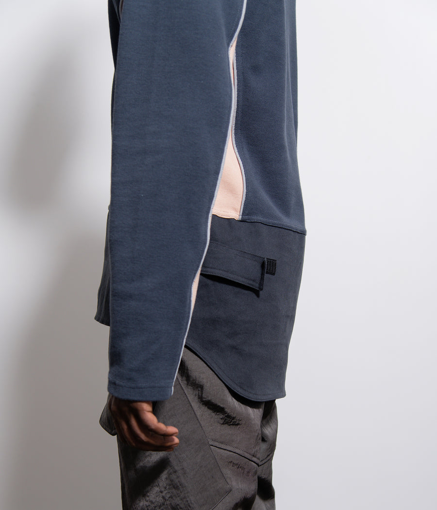 Scratch Guard Sweater Grey/Black/Beige