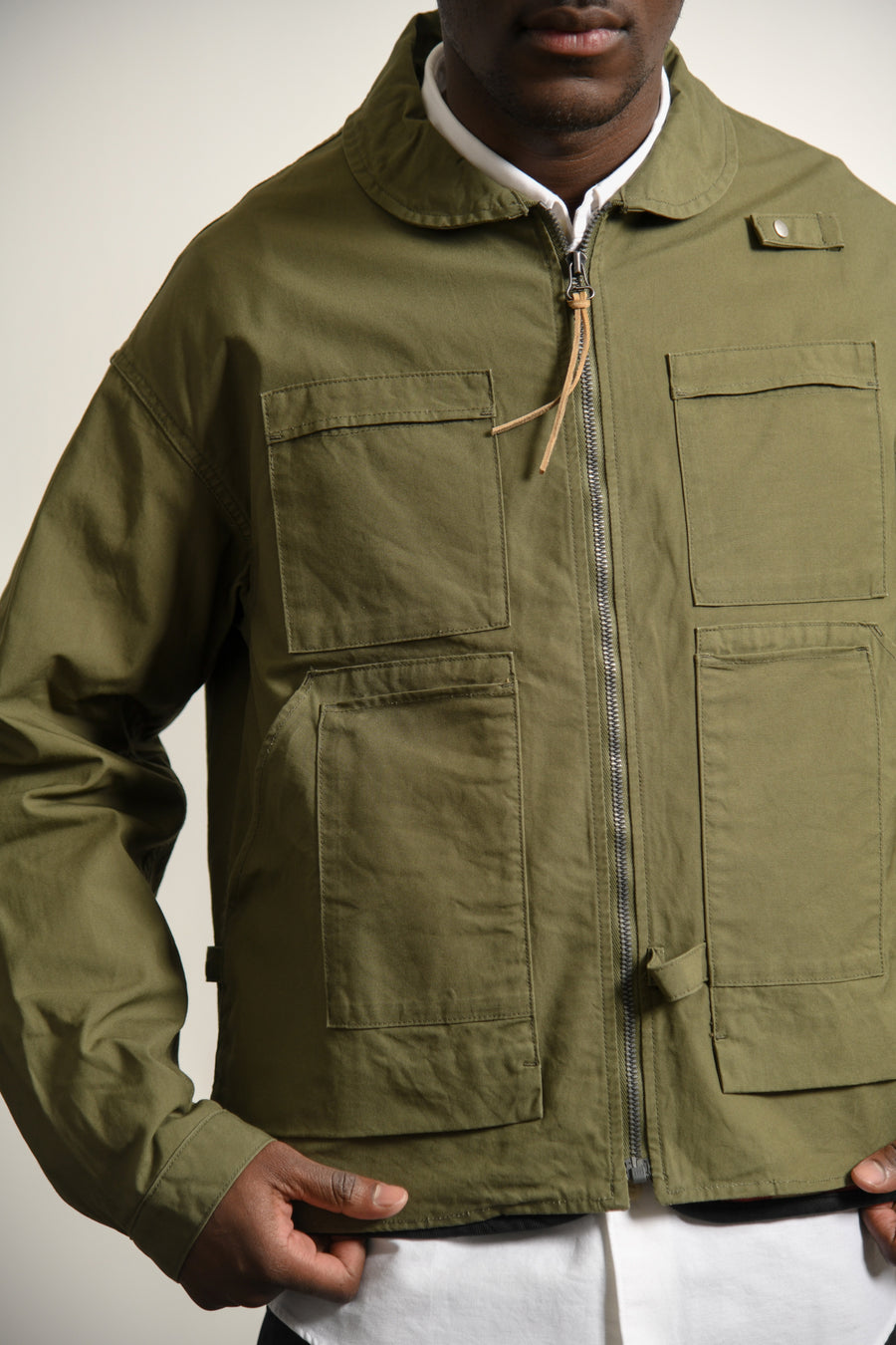 Enfield Hunting Jacket Olive