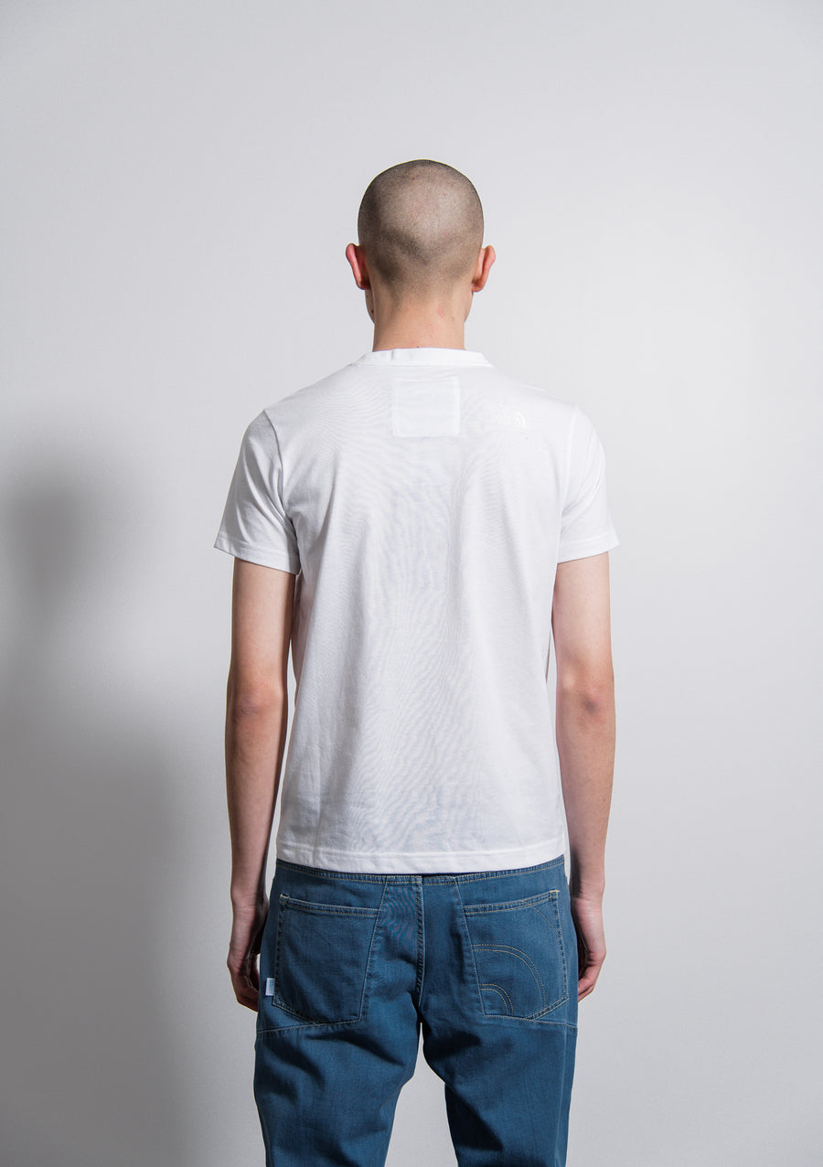 City Denim Print Tee White