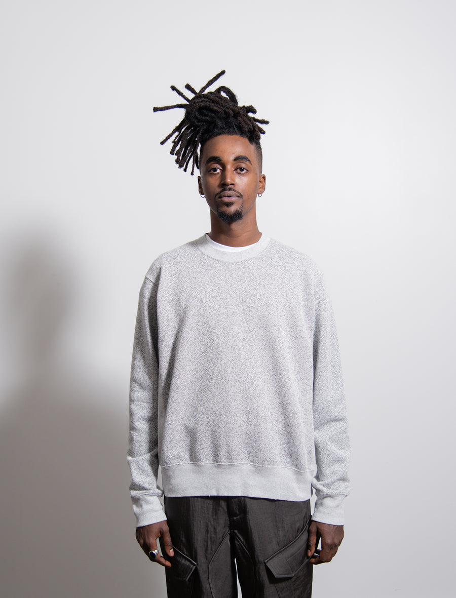 Spec Fleece Crewneck Sweater Grey