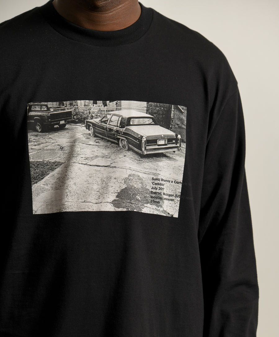 Suraj Bhamra Cadillac Photo Tee Black