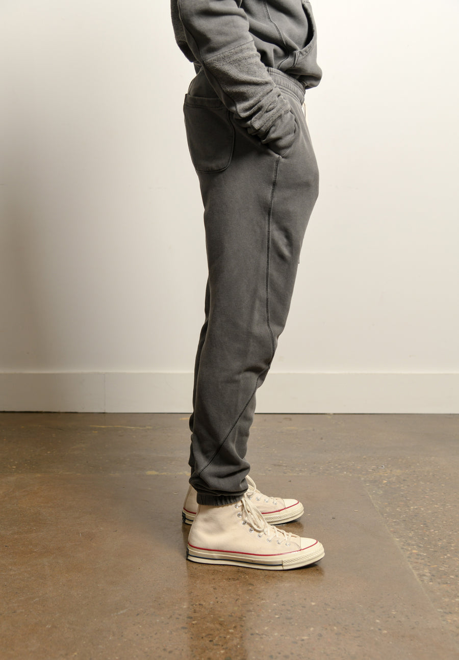 Loose Stitch Sweatpant Washed Black