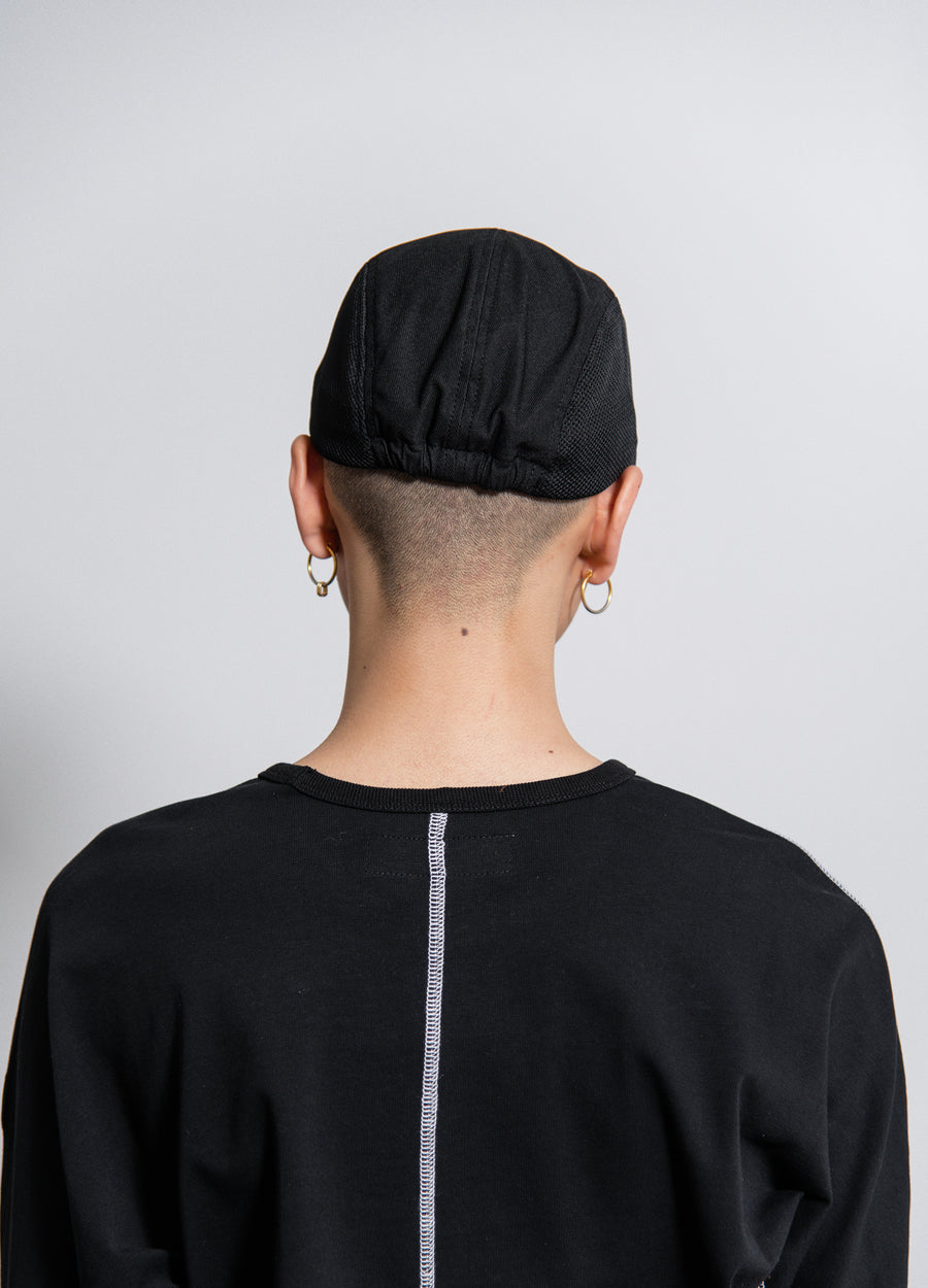 AFFIX Dual Fabric Cap Black
