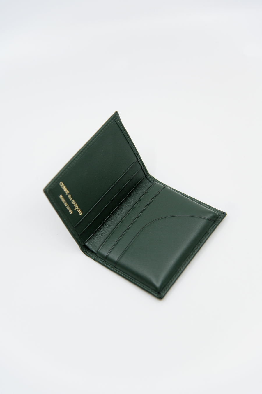Classic Bifold Wallet Bottle Green