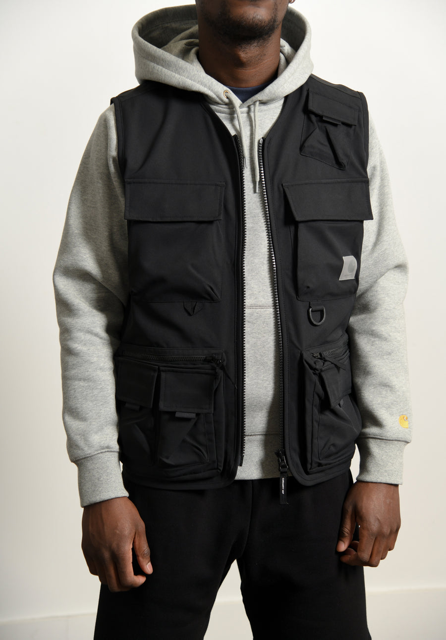 Elmwood Vest Black