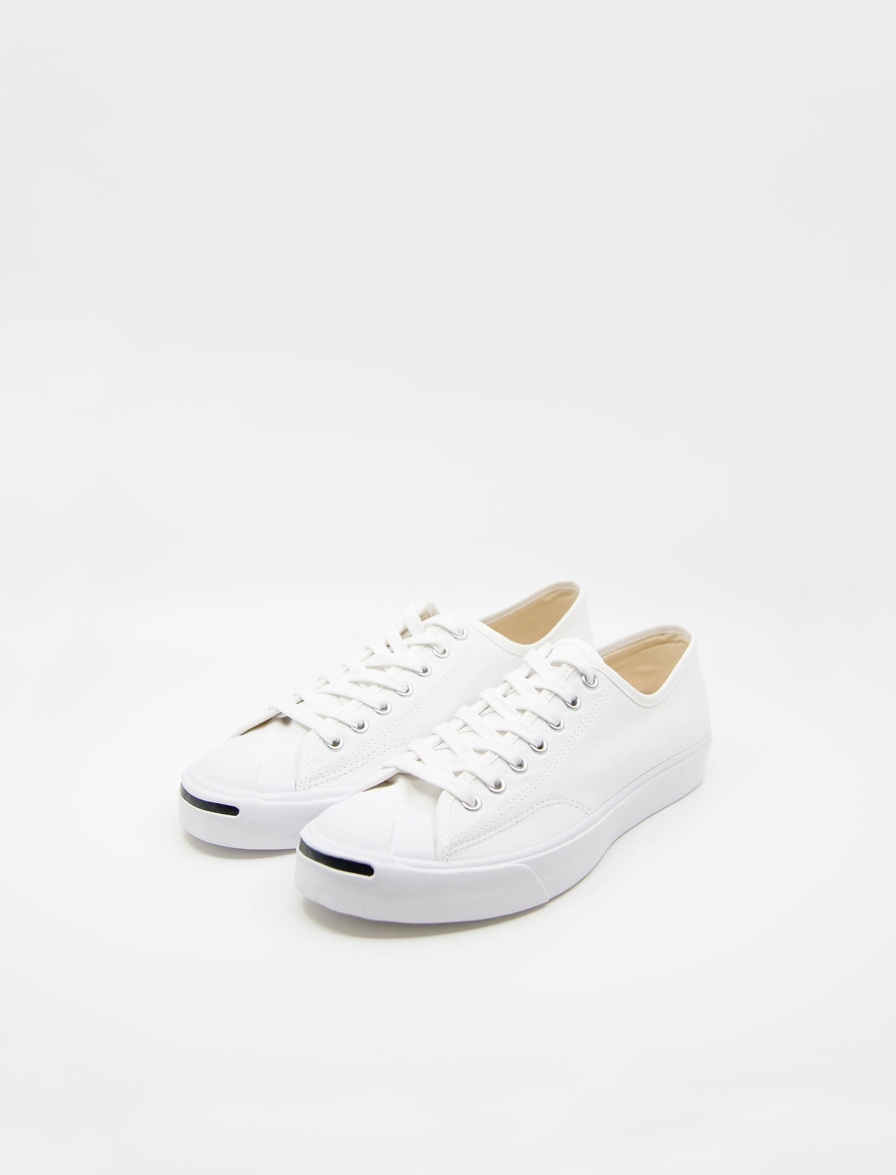 796afeeff6f9 Converse Jack Purcell OX White White - NOMAD