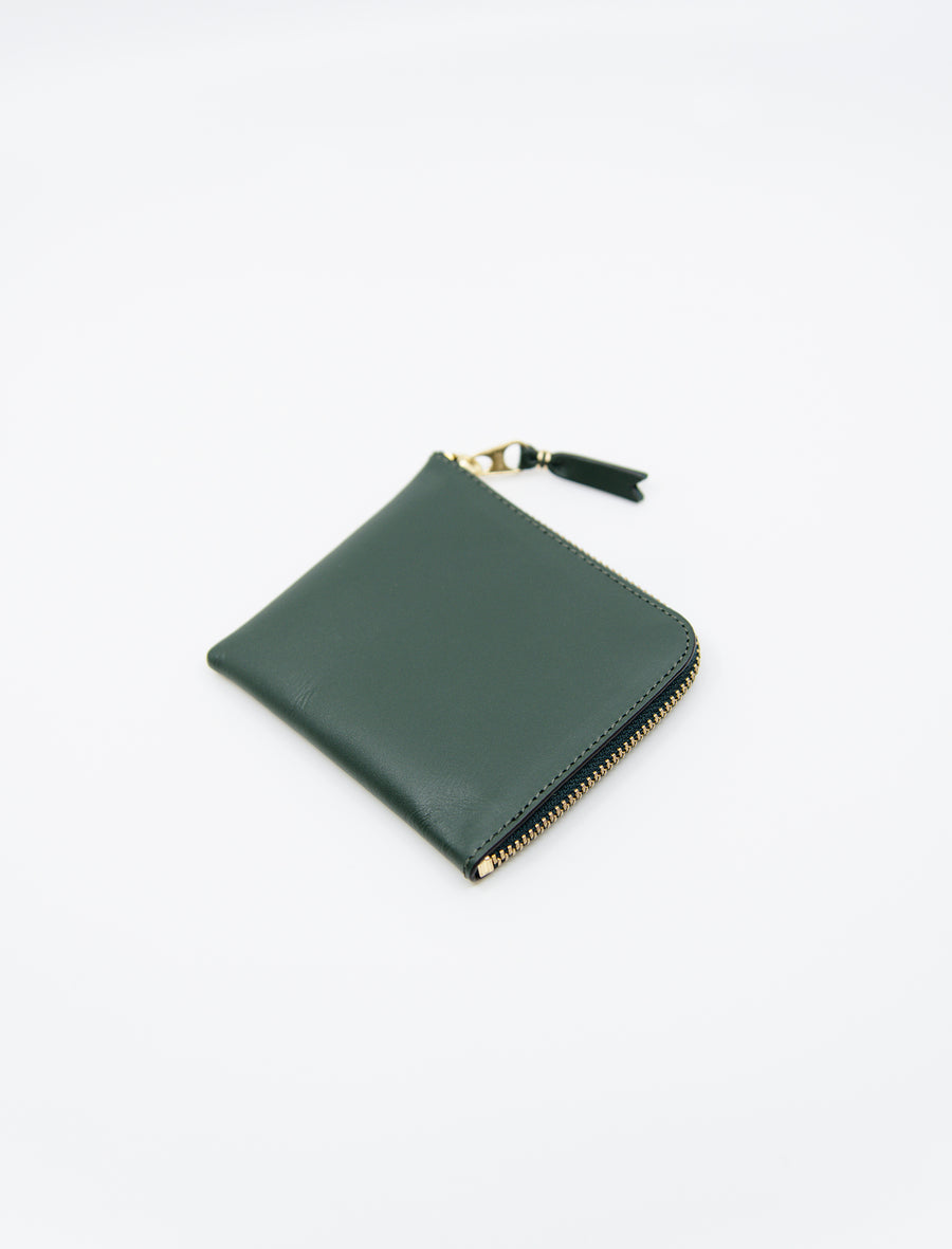 2-Sided Zip Wallet Bottle Green