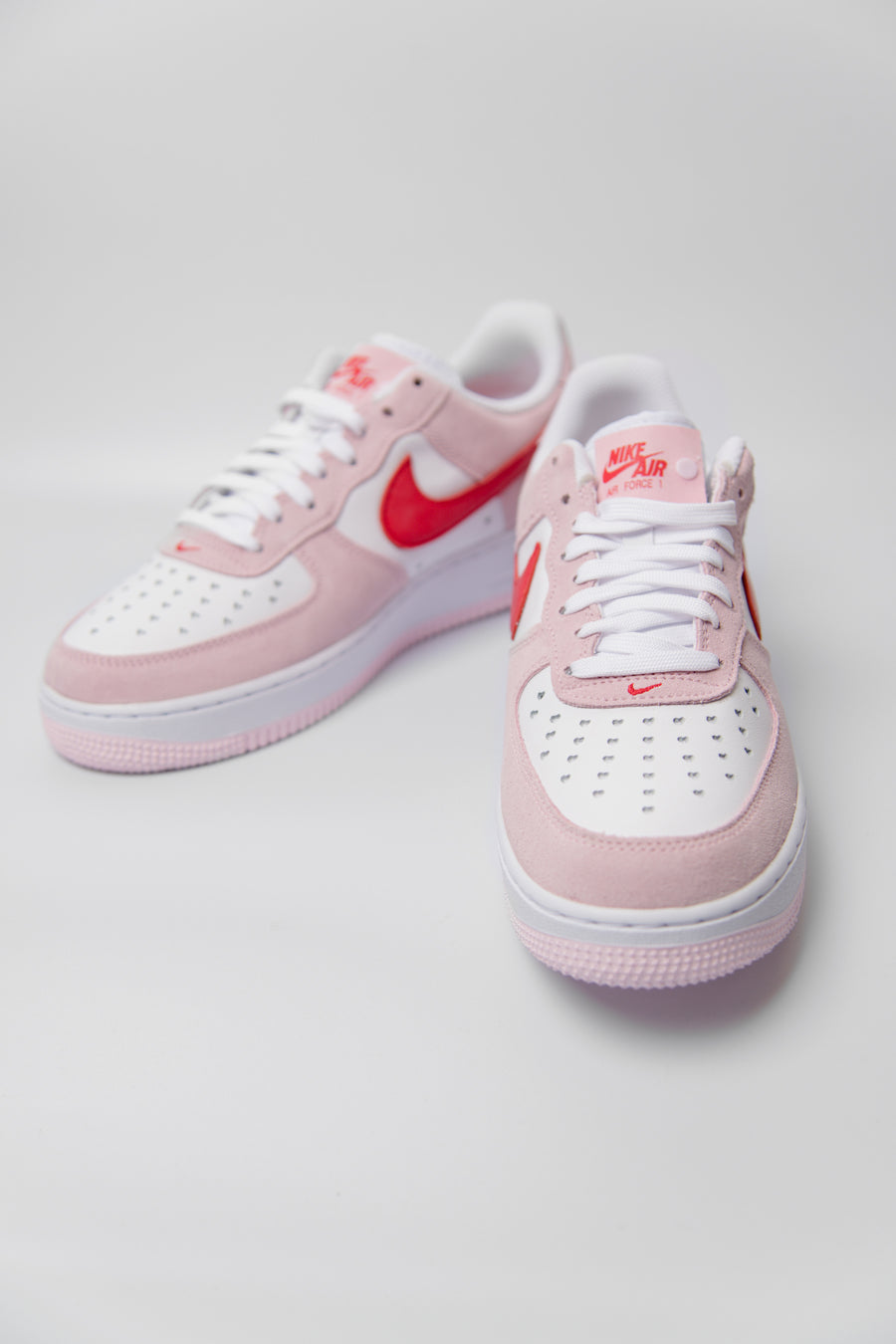 Air Force 1 '07 QS Tulip Pink/University Red/White DD3384-600 (LAUNCH PRODUCT)