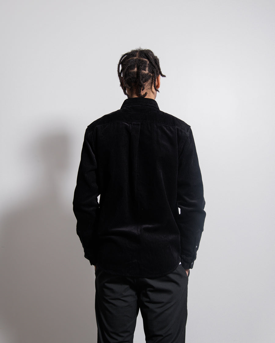 Corduroy Madison Shirt Black/White