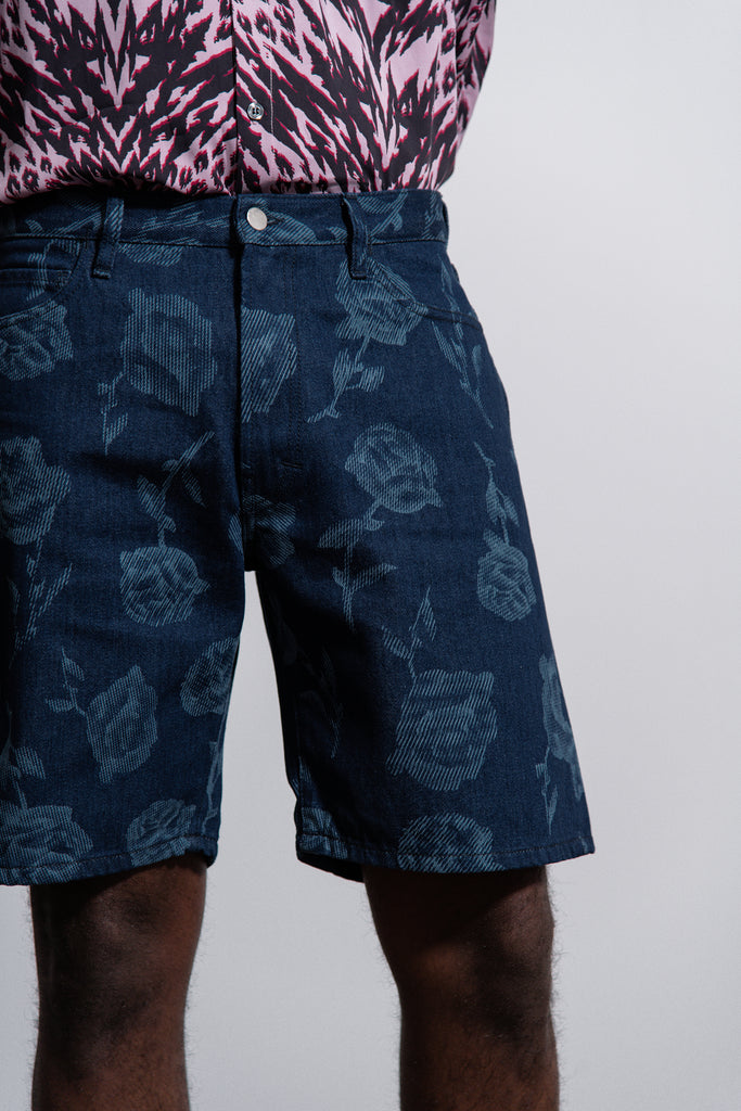 d37d278344 ... Rose Denim Short Blue