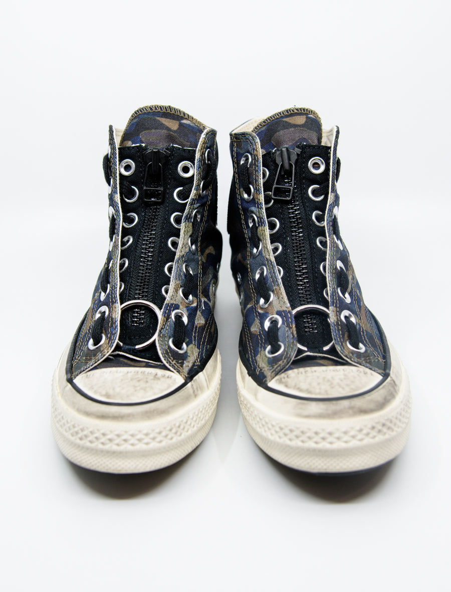 CTAS 70 High Undercover Black/White/Camo 164833C
