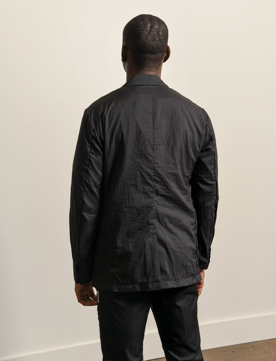 Wrinkles Air Tailored Jacket Black