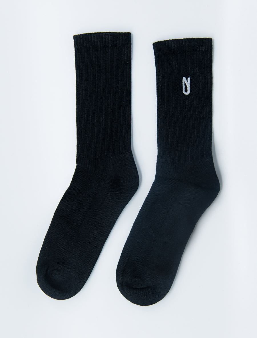 Long Sock Black