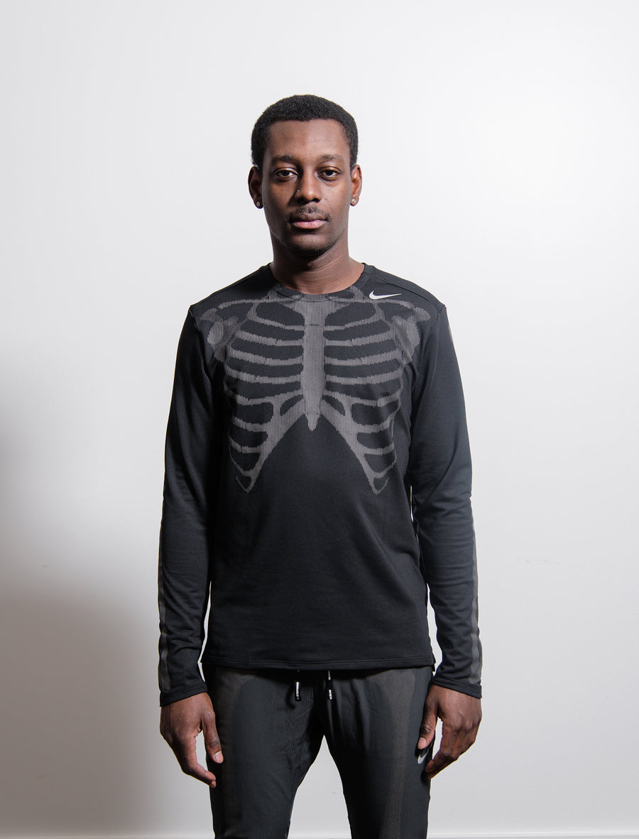 NRG Skeleton Long Sleeve Tee Black CD6402-010