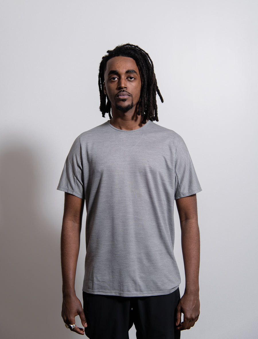 S/S Cevian Tee Stone Heather