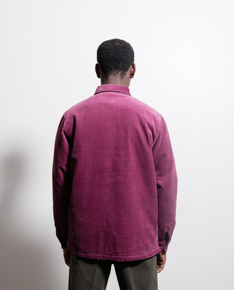 Whitsome Shirt Jacket Dusty Fuchsia