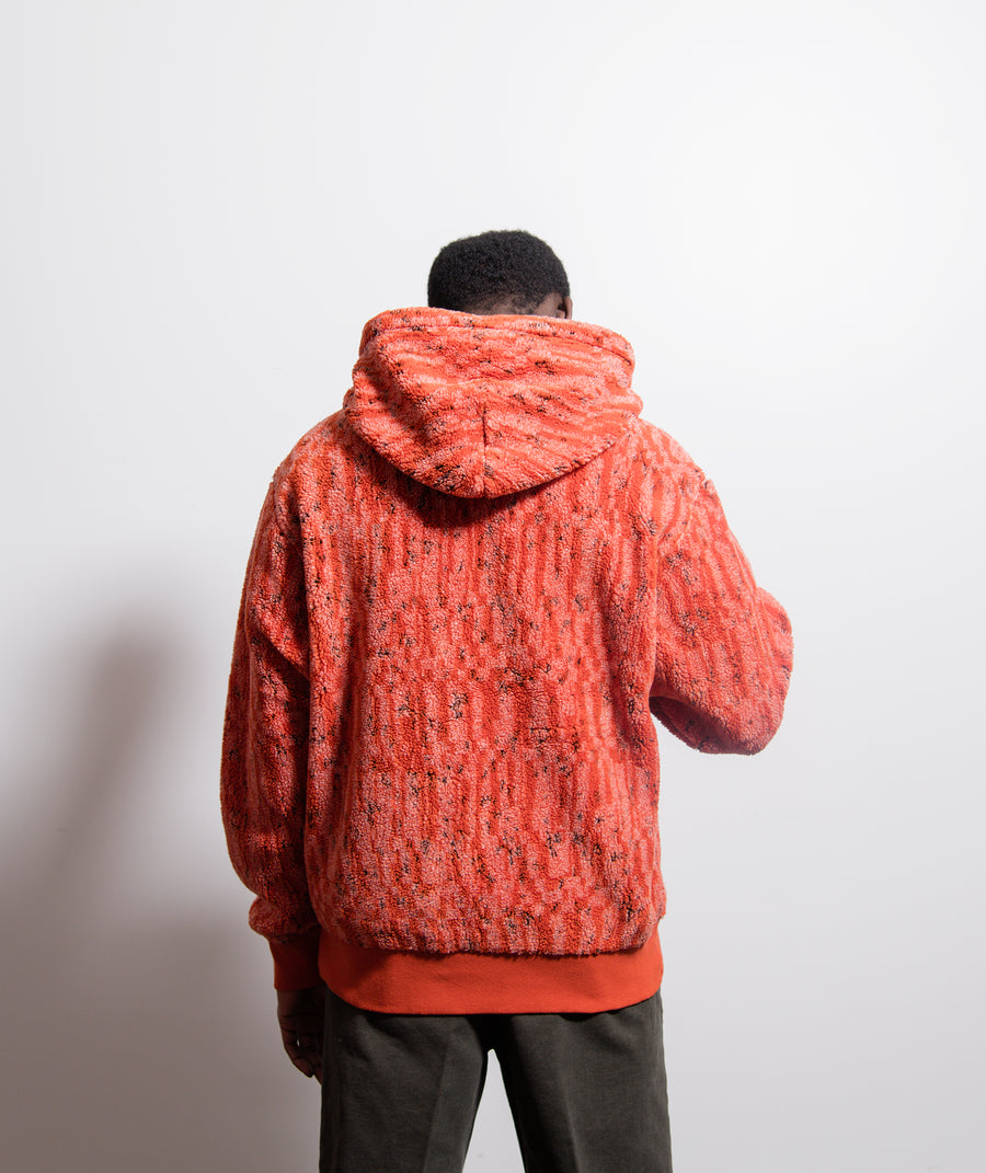 60307 Contour Hoodie Red