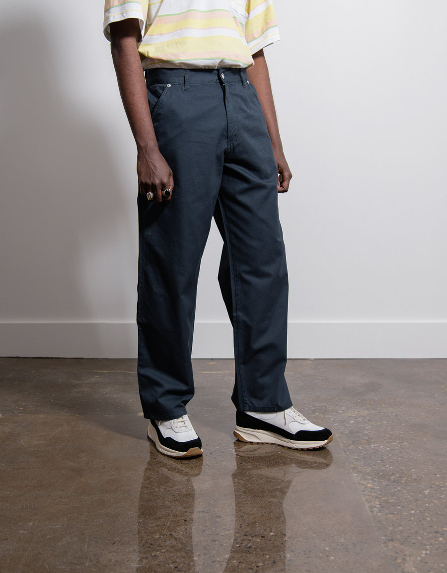Overdyed Twill Carpenter Pant Blue