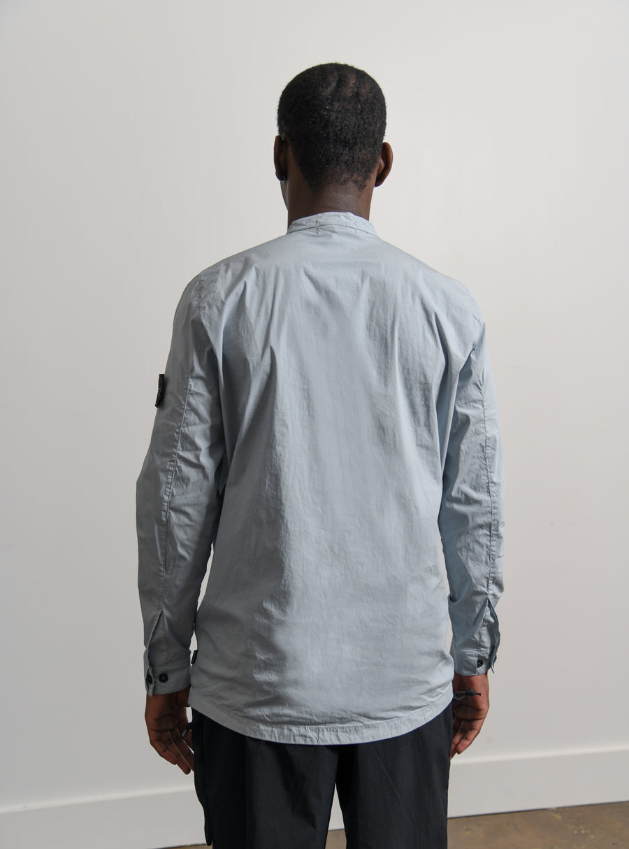 Stretch Nylon Tela Shirt Grey