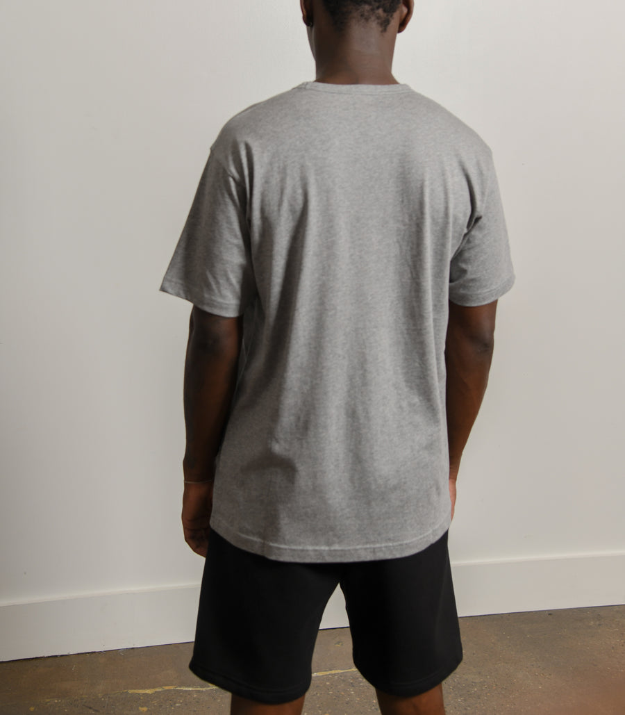 25E173 Tee Light Grey Melange