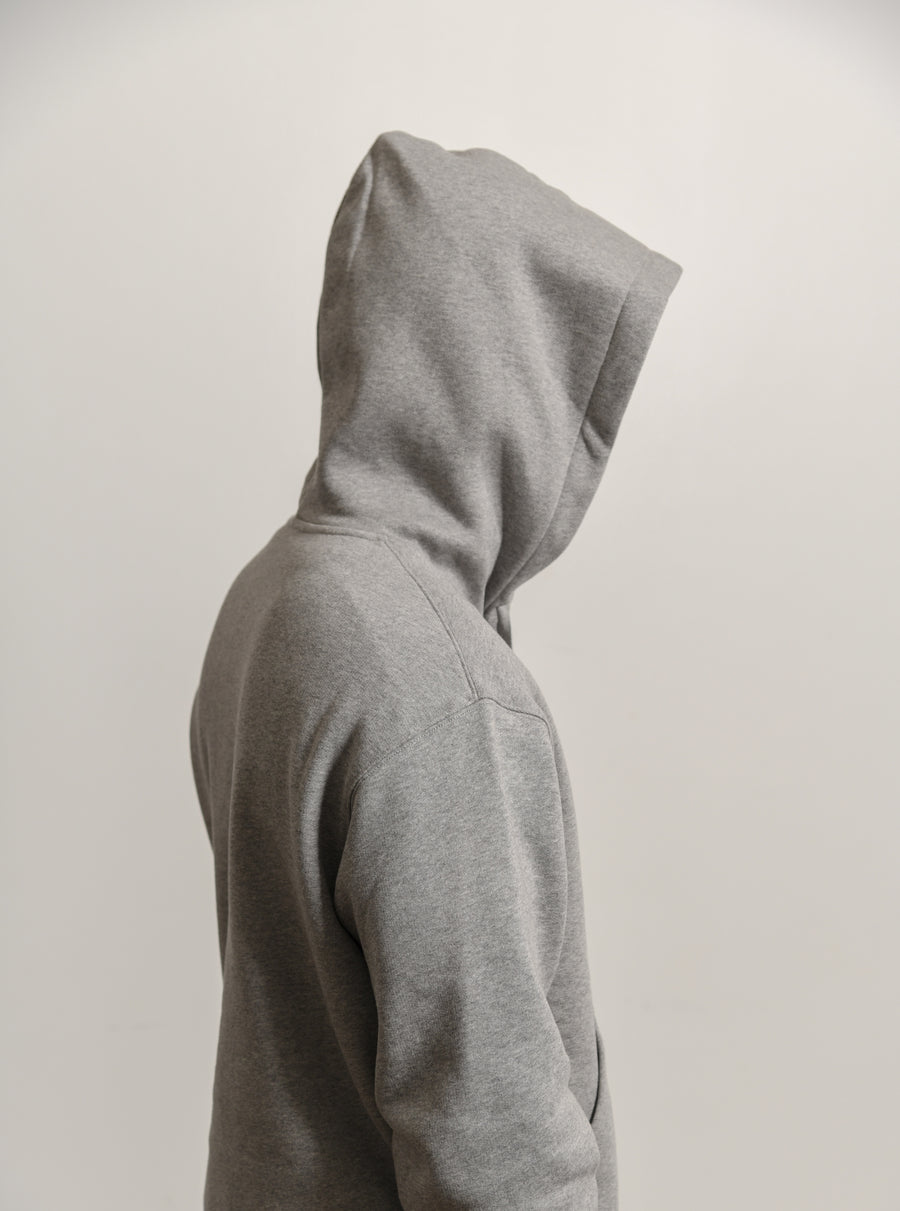 Face Logo Hoodie Light Grey Melange 2HK173