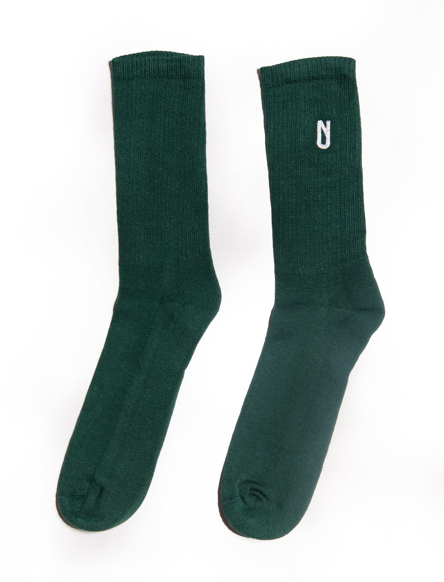Long Sock Green