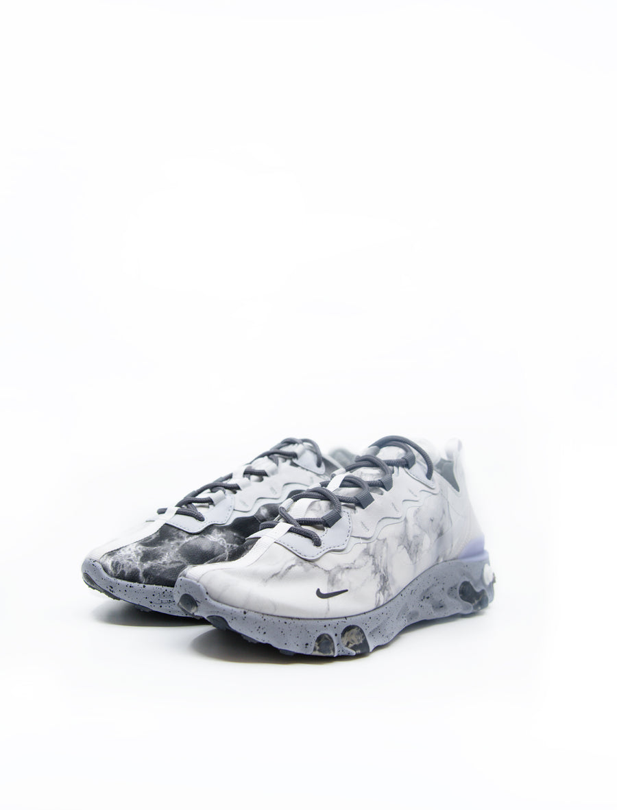 React Element 55 KL Pure Platinum/Clear/Wolf Grey/Black CJ3312-001
