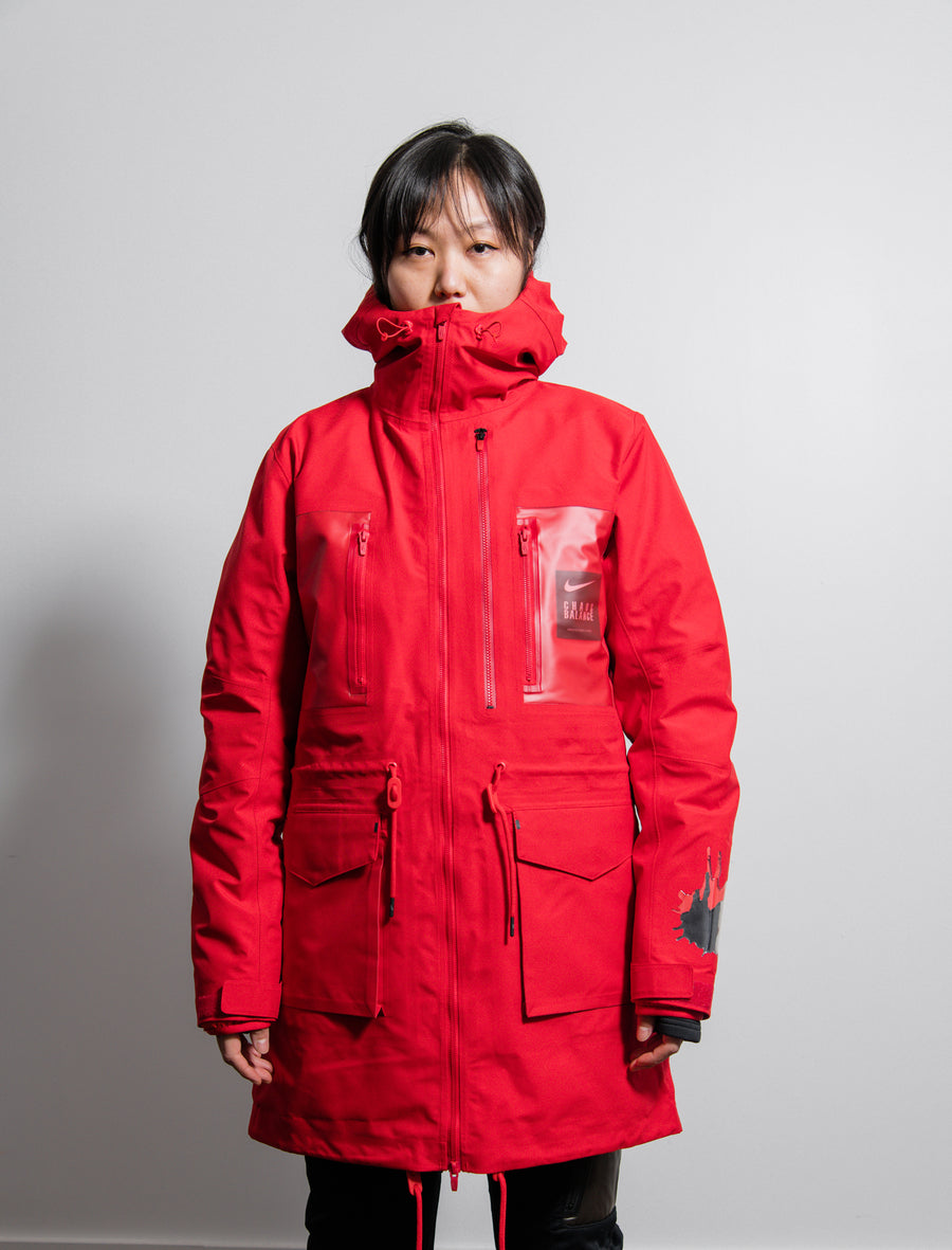 Undercover Parka Sport Red/White CD7522-611