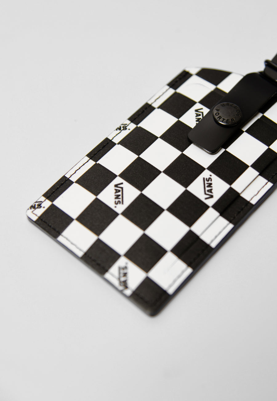 Porter Luggage Tag Black/White VN0A4RTU56M (LAUNCH PRODUCT)
