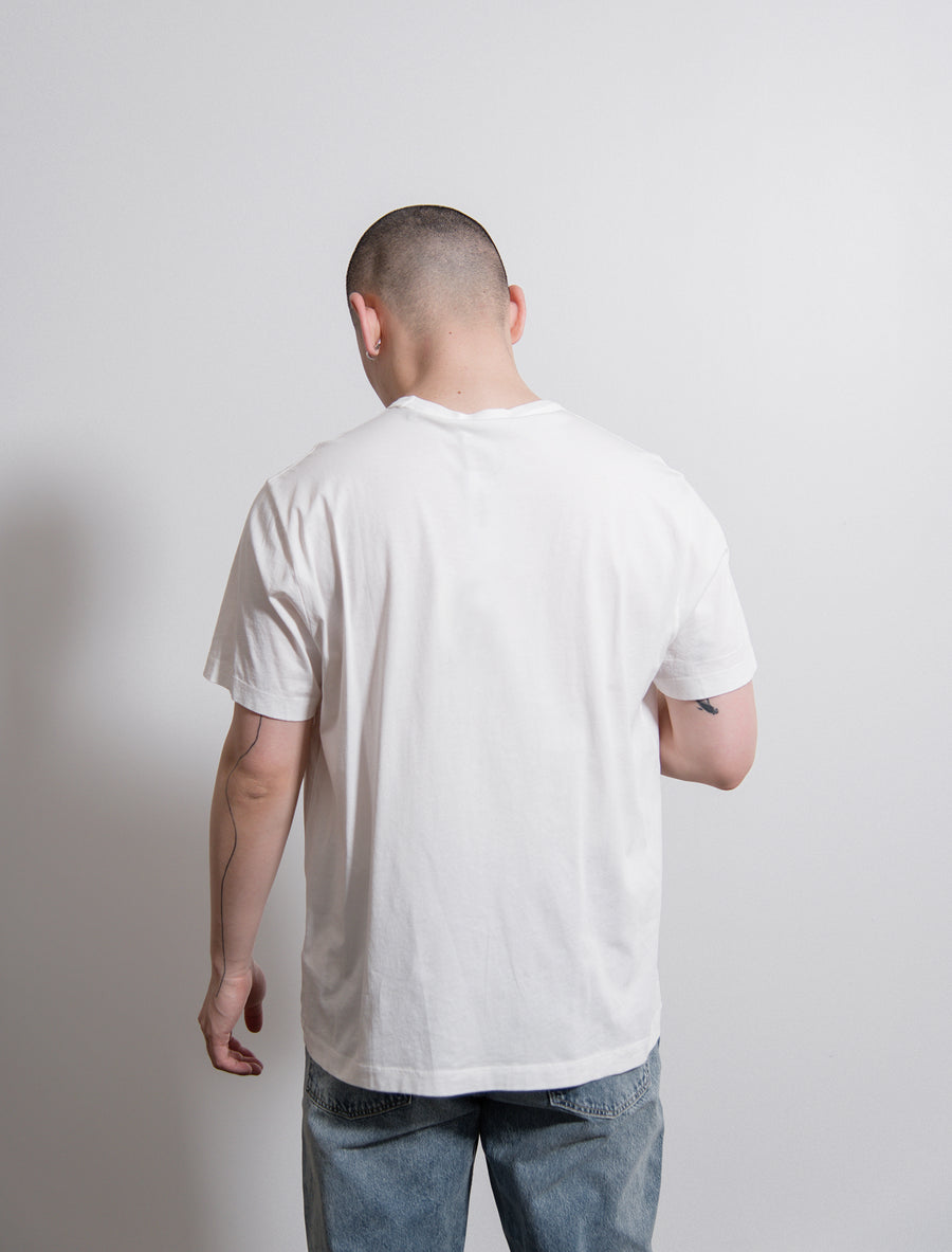 New Box Tee Optic White