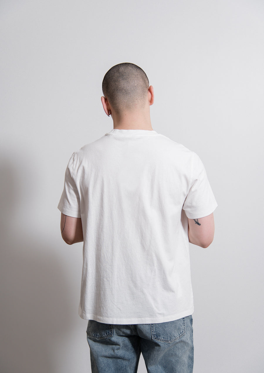 New Box Synthesis Tee White