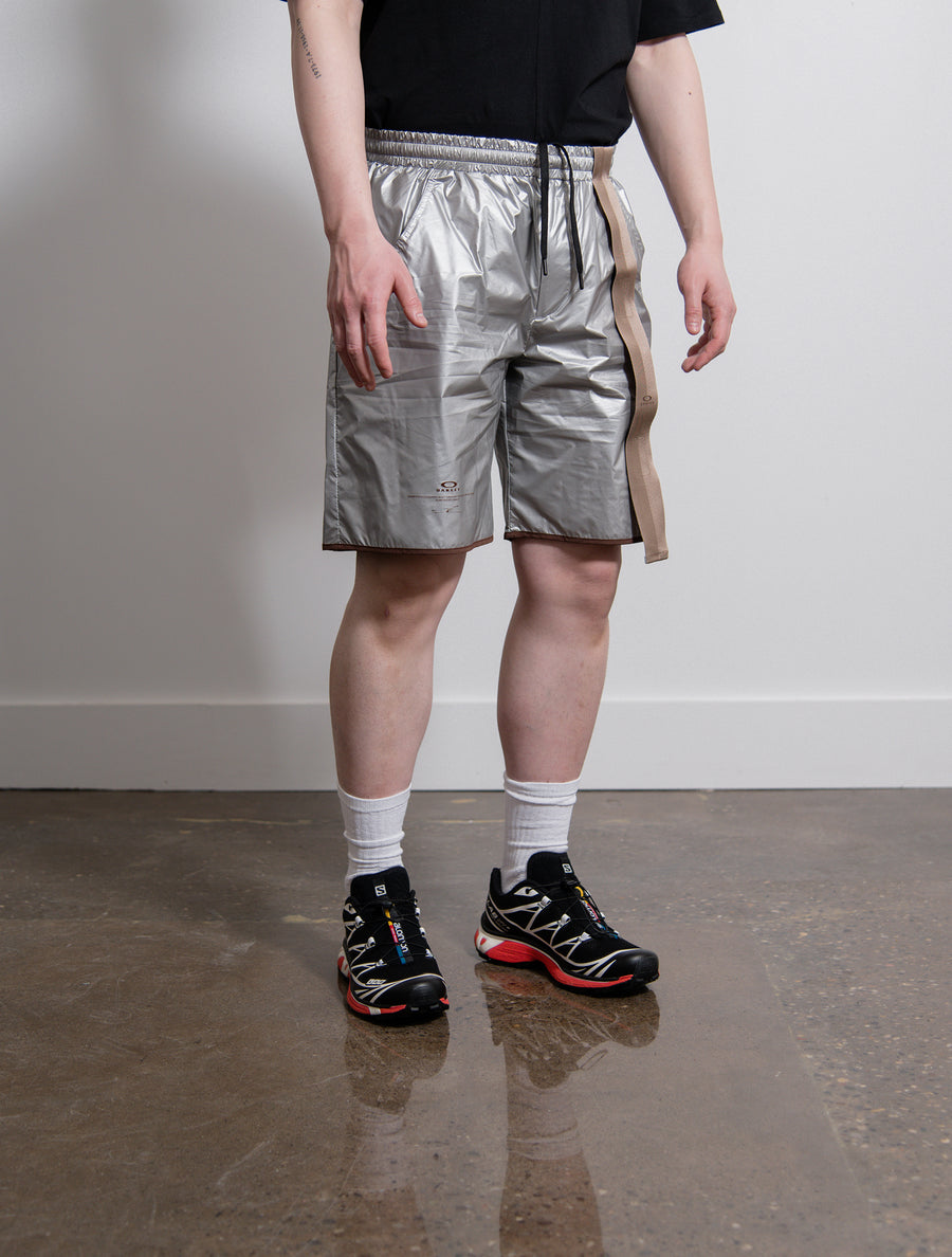 Metallic Short Silver