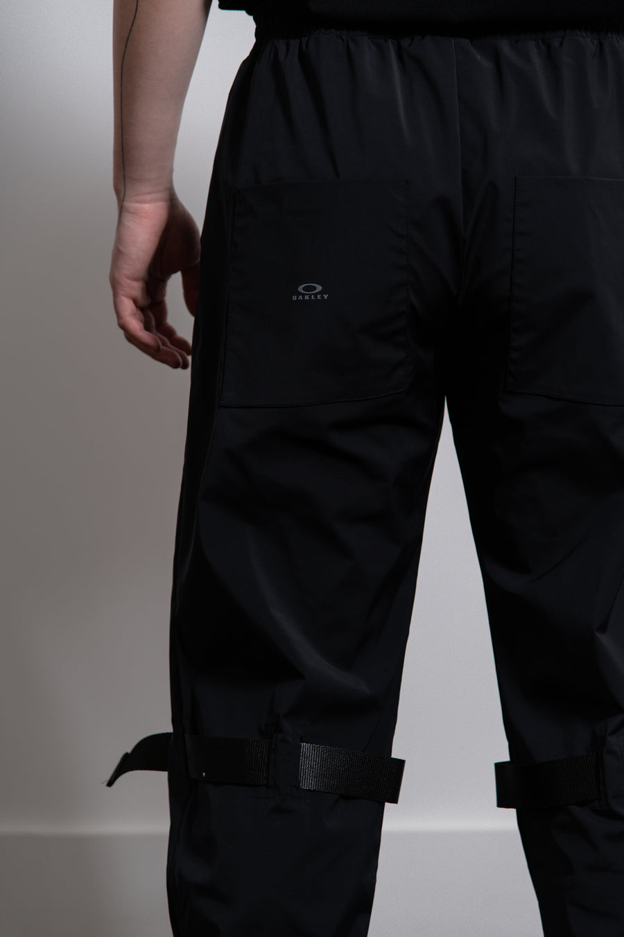 Oakley by Samuel Ross Black Tapes Track Pants Navy