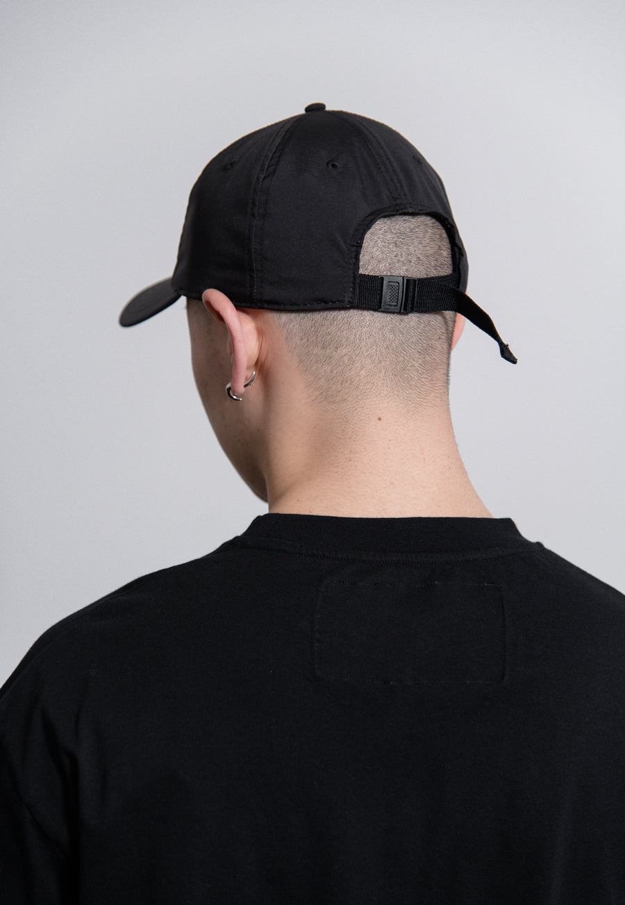 Spray Printed Hat Black